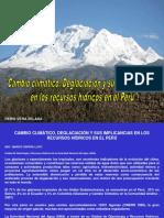 Deglaciacion en El Peru