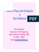 Handout 10_Slopes Under Earthquakes
