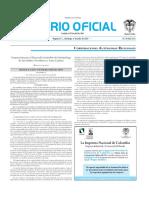 Diario Oficil 4 de Junio de 2010 Resolución 3408