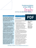 c.italy Regulations EPBD