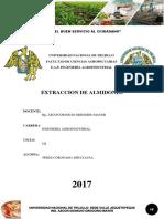 Extracción de Almidón