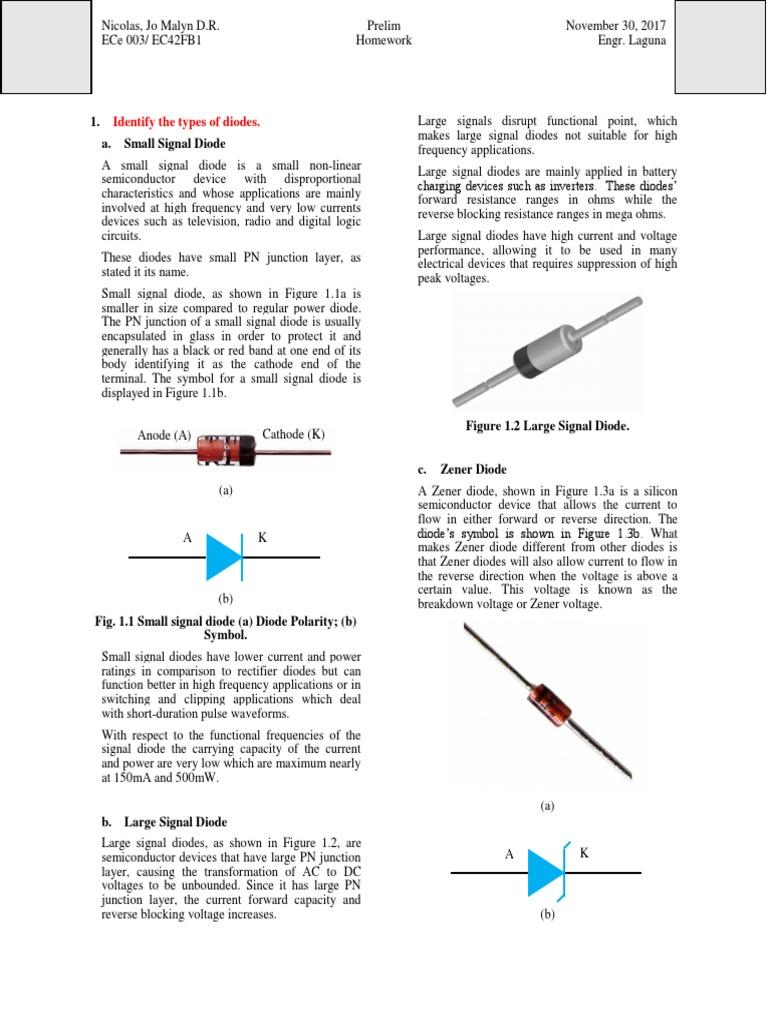 Indus1 Diode Rectifier Circuit Diagram Zener Characteristics