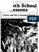 Christ & His Growing Church