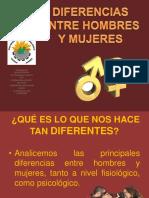 DIFERENCIAS ENTRE HOMBRES Y MIUJERES