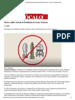 29-11-17 México ratifica Tratado de Prohibición de Armas Nucleares [Internacional] - 28_11_2017 _ Periódico Zócalo