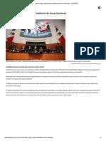 28-11-17 México ratifica Tratado sobre Prohibición de Armas Nucleares - Diario Basta!