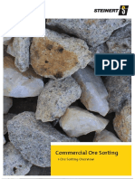 Commercial Ore Sorting