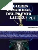 Mujeres ganadoras del Premio Laureus