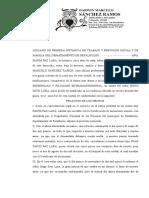 Prontuario Juicio Ordinario de Paternidad y Filiacion Extramatrimonial