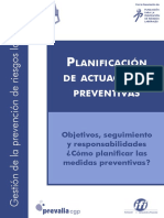 Planificacion Actuaciones PRL