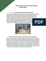 5. Tecnicas de Ensayos No Destructivos en Madera Estructural