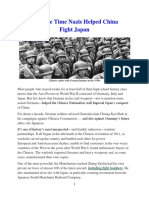 Mil Hist - WWII Nazis Help China Fight Japan