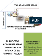 El Proceso Administrativo 2016