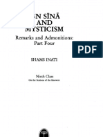 Ibn Sina and Mysticism, Remarks and Admonitions - Namat 9 (1996); Tr. Shams C. Inati (11 Pages)
