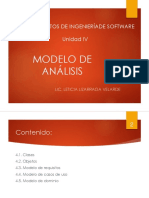U IV Modelo de Analisis