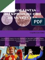 Medallistas Olímpicos de Oro de Venezuela
