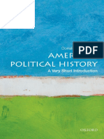 American Political History; A Very Short Introduction