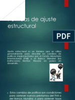 Políticas de Ajuste Estructural