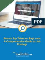 Job Posting eBook
