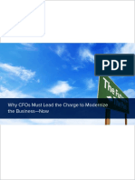 CFOs Must Lead the Charge