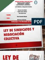 Ley de Sindicatos y Negociación Colectiva