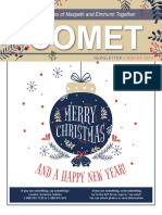 Comet Winter 2017 newsletter