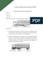 Cuántos Tipos de Camiones de Diseño Existen en La Norma AASHTO y El RNE