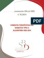 Conduta Terapeutica No Dm2 Algoritmo Sbd 2014 Versao Final Impressao