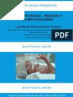 Bajo Peso Al Nacer y Prematuridad