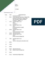 Cronograma Del Curso VI Bimestre Del 2013 Mercadeo