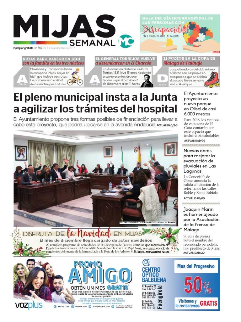 Mijas Semanal nº765 Del 1 al 6 de diciembre de 2017 c5ce3fcef38