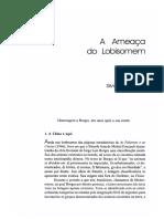 A Ameaca Do Lobisomem - Silviano Santiago