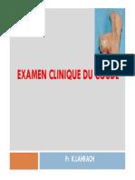 [1] Examen Clinique Du Coude - Pr Lahrach