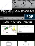 1.Basic Electrical Engineering Lecture Part-1