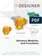 Cast Designer Advance Modules Function HR
