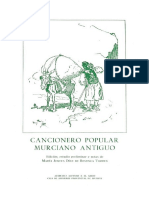 Cancionero Popular Murciano Antiguo 0