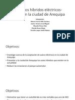 Vehículos Híbridos Eléctricos Solares en La Ciudad de Arequipa (1)