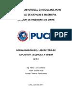 Normas Basicas Del Laboratorio - 1MIN03