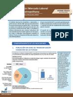 Informe Técnico N° 01 Mercado Laboral Oct - Nov - Dic, 2016