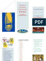 golden state warriors brochure