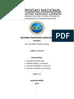 Sistema Financiero Bancario 1