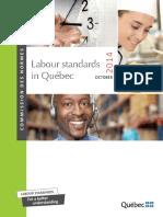 Quebec Working Hours