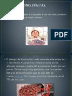 Manifestaciones Clínicas Heptitis b