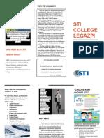 Brochure on Marketing