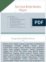 Prinsip Dan Cara Kerja Samba Server
