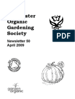 April 2009 Chichester Organic Gardening Society Newsletter