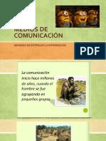 Medios de Comunicación 8vo