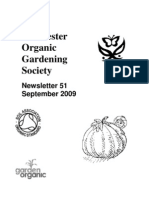 September 2009 Chichester Organic Gardening Society Newsletter