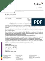 General Letter CAS-Inquiries