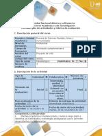 Guía de Actividades y Rúbrica de Evaluación - Fase 3- Identidad Cultural Un Encuentro Intercultural Con Los Otros
